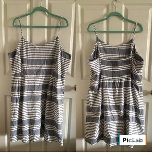 Striped summer dress from old navy